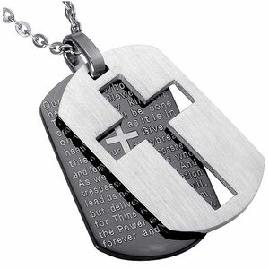 Other - Bible Verse Dog Tags Necklace